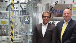 Xpander monoblock packaging machine Shemesh Automation