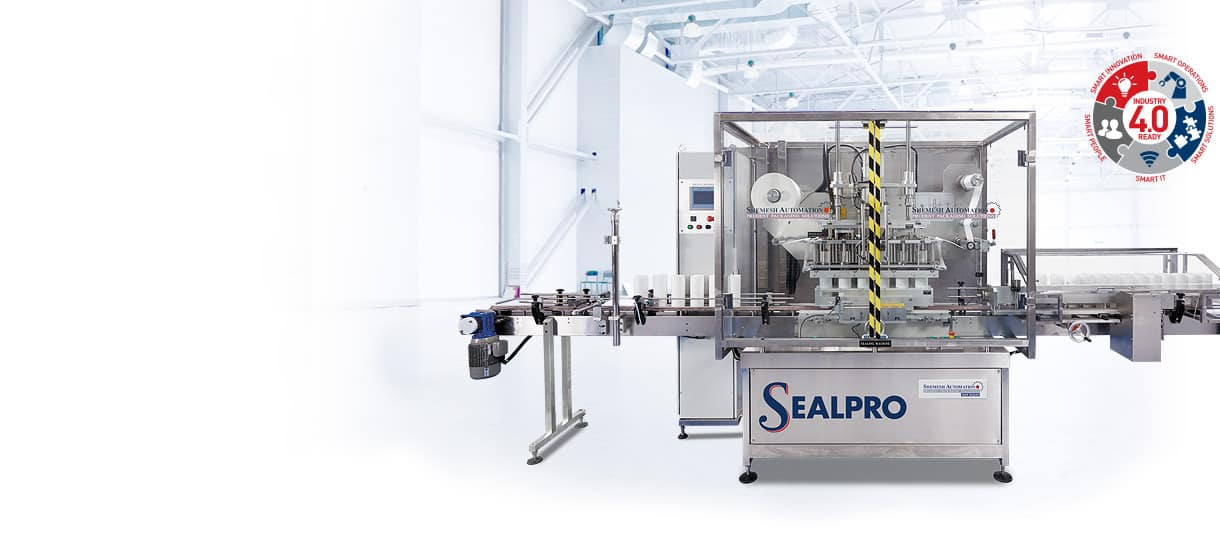 SA Sealpro Total Automatic Conduction Sealing Machine Shemesh Automation
