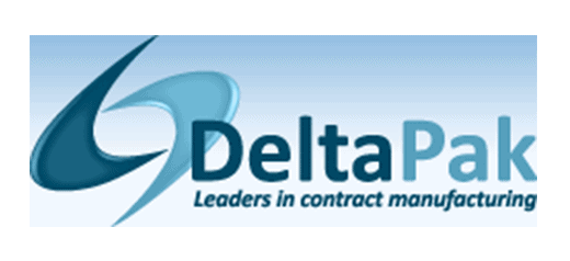Deltapak logo liquid filling machines shemesh automation