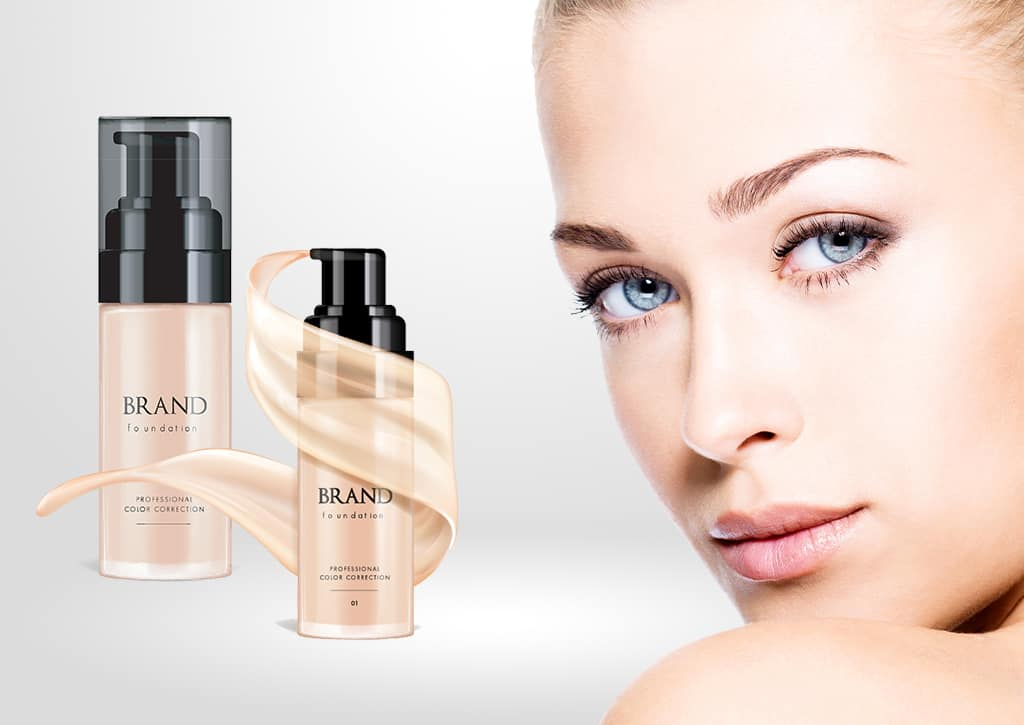 Cosmetics packaging - foundation