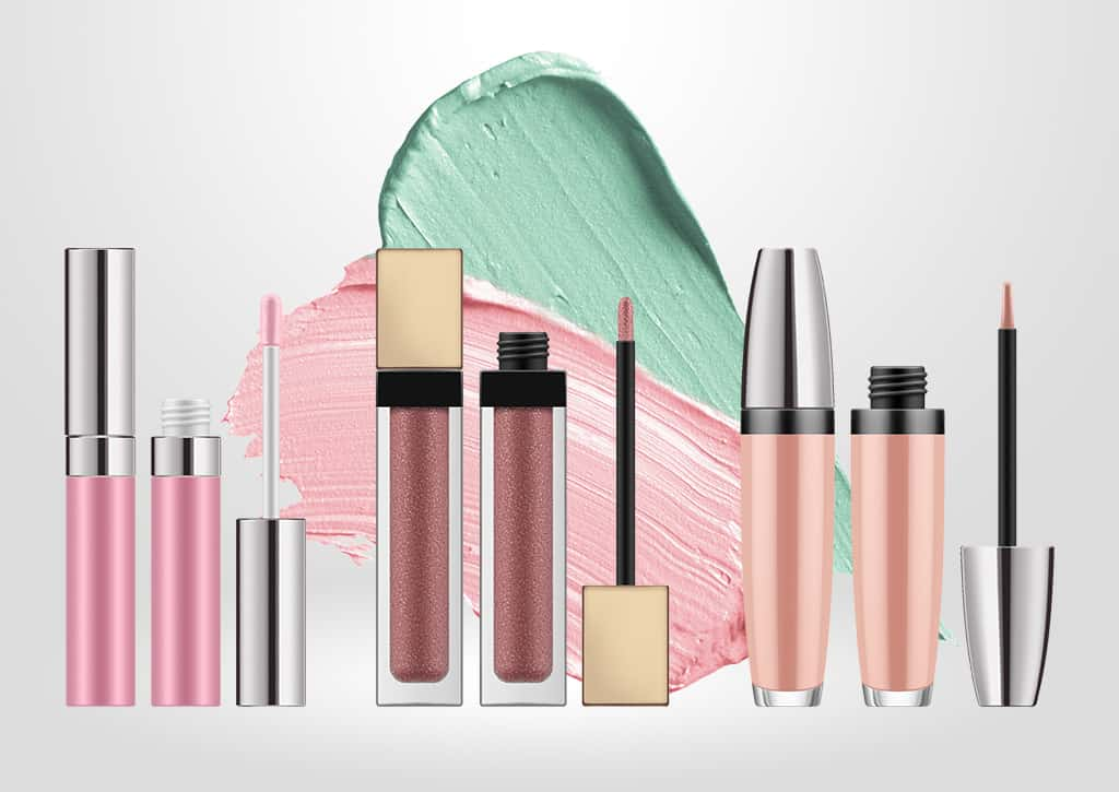 Cosmetics products with Shemesh cosmetics packaging