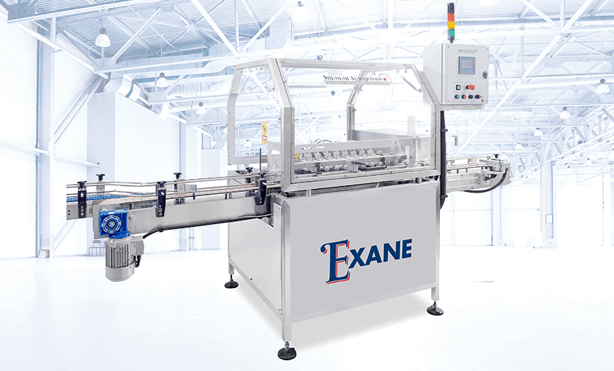 EXANE Automatic Inverting Air Rinser Shemesh Automation