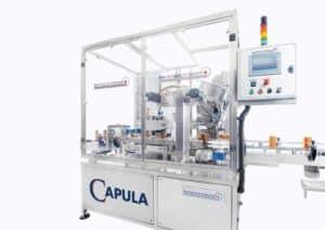 Capula Capper machine Shemesh Automation