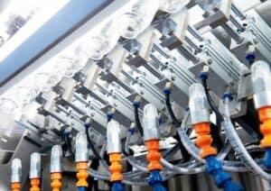 Exane rinsing machine for bottles Shemesh Automation