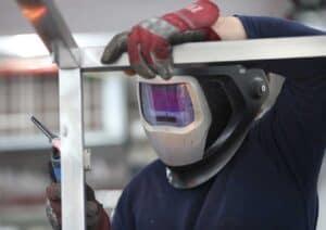 Man Welding Shemesh Automation