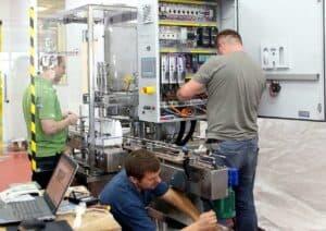 Team Working Machine Shemesh Automation