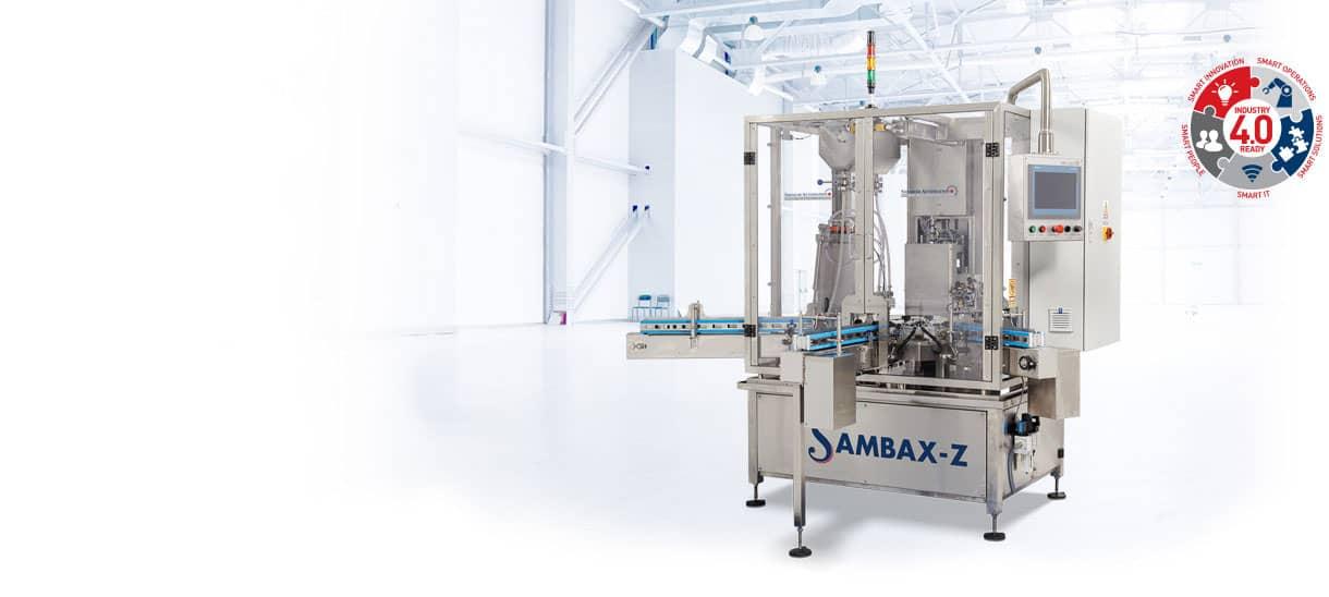 Sambax-Z Monoblock Packaging Machine Shemesh Automation